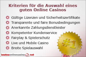 Endlich Ein Seriöser Test Der Besten Online Casinos Für 2021!